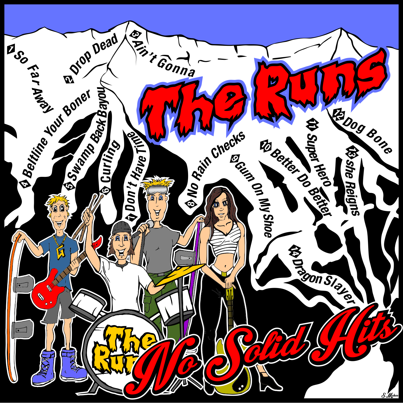 The Runs Album cover July 18 2016